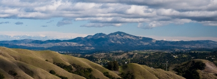 Mount Diablo from the Bay Area Ridge Trail, Tilden Regional Park
