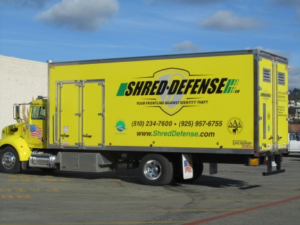 Shred Defense Truck