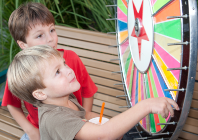 Kids and Prize Wheel - Copy