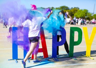 The Color Run - photo op